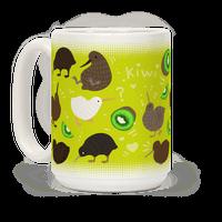 Kiwi Bird Pattern