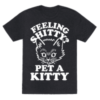 Feeling Shitty Pet A Kitty