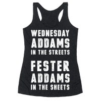 Wednesday Addams In The Streets Fester Addams In The Sheets