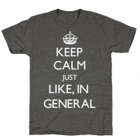 Keep Calm In General
