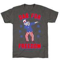 3eed695ee74c20 DAB FOR FREEDOM Tank Top