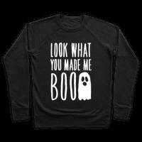 Look What You Made Me Boo Parody White Print