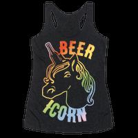 Beer-icorn White Print