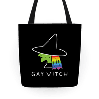 Gay Witch Tote