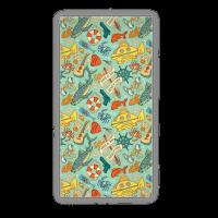 Life Aquatic Nautical Pattern Towel