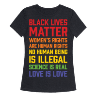 Black Lives Matter List Tee