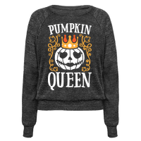 Pumpkin Queen (White) Pullover