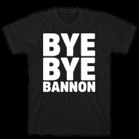Bye Bye Bannon White Print
