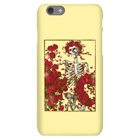 Flowers And A Skeleton (Vintage Design)