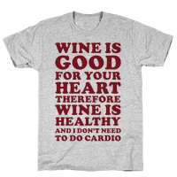 Wine is Good For Your Heart