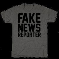 Fake News Reporter Tee