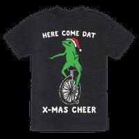Here Come Dat X-mas Cheer White Print