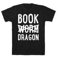 Book Dragon Not Book Worm