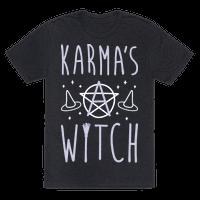 Karmas A Witch (White)