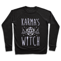 Karmas A Witch (White)