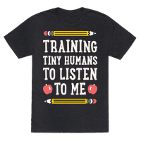 Training Tiny Humans To Listen To Me - White