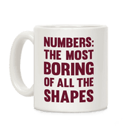 Numbers The Most Boring of All The Shapes