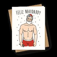Feliz Navidaddy Parody Greetingcard