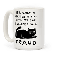 It's Only A Matter Of Time Until My Cat Realizes I'm A Fraud
