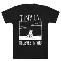Tiny Cat Believes In You
