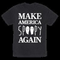 Make America Spoopy Again (White) Tee