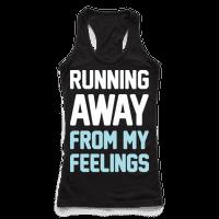 Running Away From My Feelings (White)