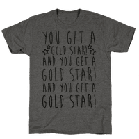 You Get A Gold Star