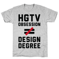 HGTV Obsession Not Equal To a Design Degree.