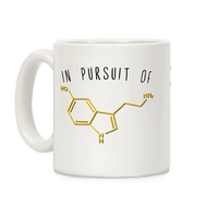 In Pursuit of Happiness (Serotonin Molecule)