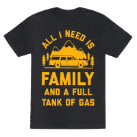All I Need Is Family and a Full Tank of Gas
