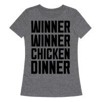 37950e84f Winner Winner Chicken Dinner T-Shirt | LookHUMAN