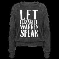 Let Elizabeth Warren Speak White Print