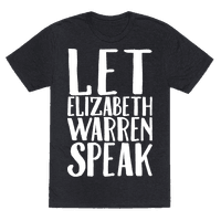 Let Elizabeth Warren Speak White Print