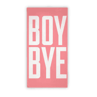 Boy Bye Beach Towel Towel