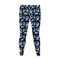 Spooky Ghost Pattern Legging