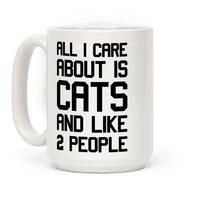 All I Care About Is Cats And Like 2 People
