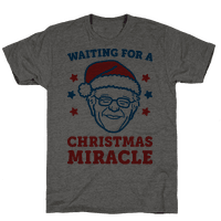 Waiting For A Christmas Miracle Bernie Sanders