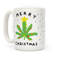 Merry Christmas Pot Leaf