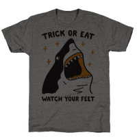 Trick Or Eat Shark Tee