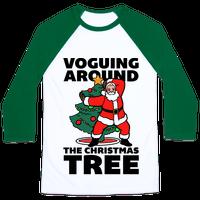 Voguing Around The Christmas Tree