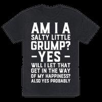 A Salty Little Grump