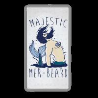 Majestic Mer-Beard Merman Towel
