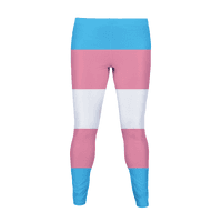 Trans Flag Colors Legging