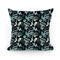 Do Androids Dream Sci Fi Pattern (grey)