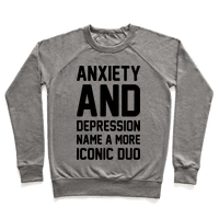 Anxiety and Depression Name A More Iconic Duo