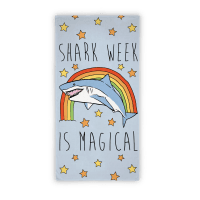 Shark Week Is Magical Beach Towel Towel