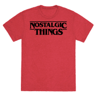 Nostalgic Things Parody Tee