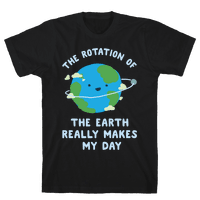 The Rotation of the Earth Really Makes My Day