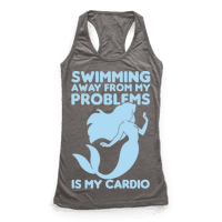Swimming Away From My Problems Is My Cardio