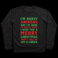 I'm Roxxxy Andrews Christmas Parody White Print